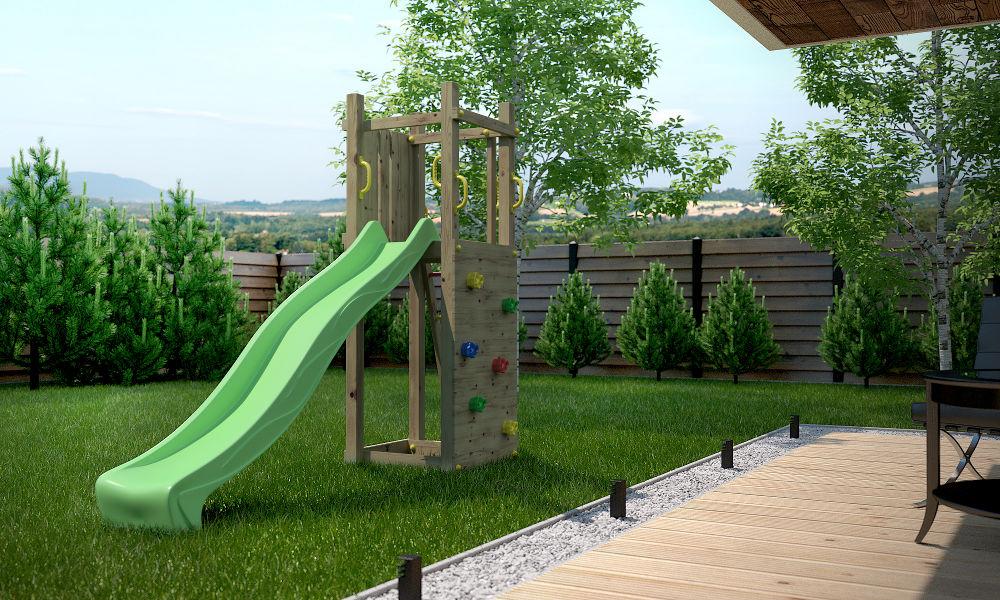 quels sont les crit res de choix d un bon toboggan pour enfant. Black Bedroom Furniture Sets. Home Design Ideas